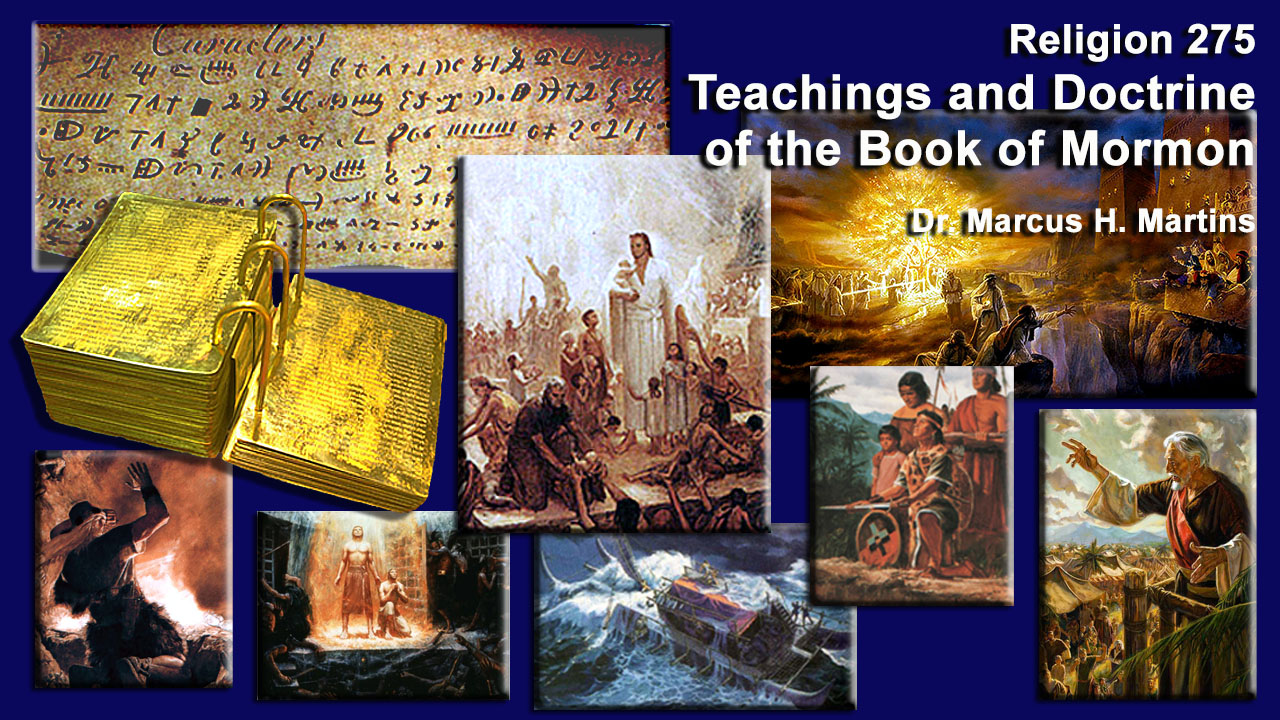 REL 275 - Teachings of the Book of Mormon