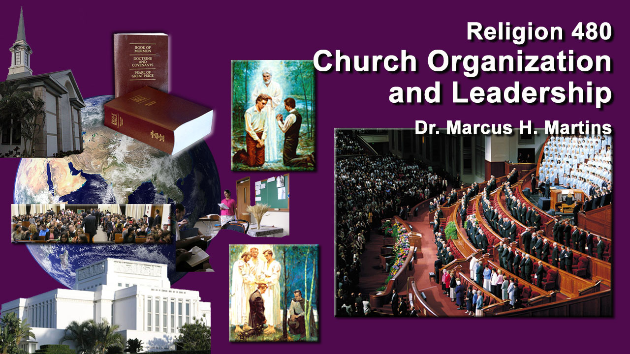 REL 480 - Church Organization and Leadership